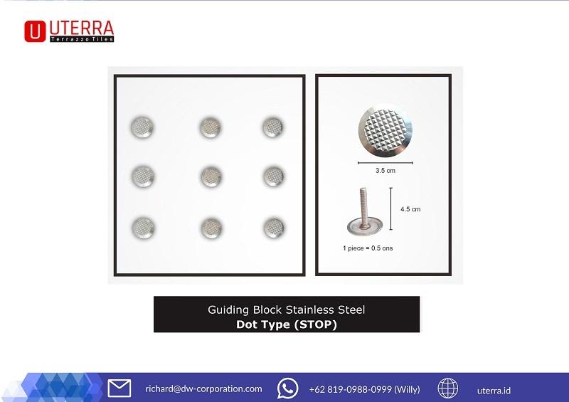 guiding-block-stainless-steel-motif-dot-uterra